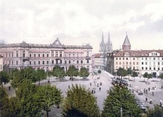 Kassel Konigsplatz pre war
